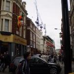 Asian street of Shaftesbury Avenue