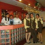 Food Staff at the Restaurant