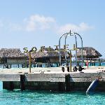 The getaway to Bora-Bora and the outside world