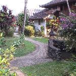 the grounds at Puri Lumbung