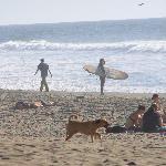 Surfing is 1 block away
