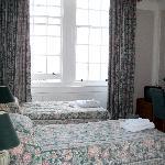 Our ground floor bedroom