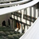 View of further courtyard
