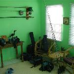 Fly fishing room