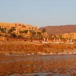 Hotel from the water - Kempinski Hotel Ishtar Dead Sea