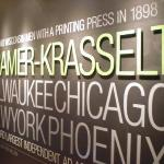 And this is from the Cramer Krasselt exhibit.