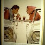 This ad is from the history of Coca-Cola advertising exhibit.