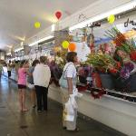 This is the West Market which is a neat part of Cleveland.... you could by fresh flowers, produc