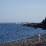 Fortress Louisbourg across the Bay