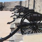 Campeche - canons Fort San Miguel