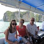 Escort boat to Phang Nga Bay