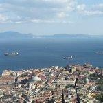 Vista di Napoli dal Vomero