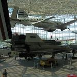 A view of the museum floor and the SR-71