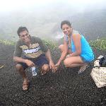 On Crater of La Soufriere