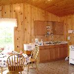 Kitchen in cabin #8