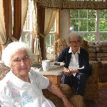 Enjoying good friends in Cottage #7
