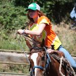 13 Year old daughter in the rodeo at weeks end