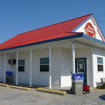 Entrance to Lewes Dairy Queen
