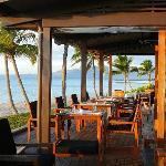 Nuku restaurant at dusk