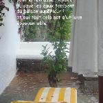 terrasse jours de pluie