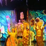 Lion King show at hotel