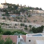 The Mount of Olives.