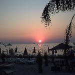 sunset in Kusadasi