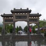 Dengfeng verso il Monastero arti marziali