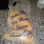 Baguettes, delievered every morning