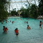 piscine a vague de temps en temps