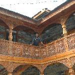 Naggar Castle courtyard
