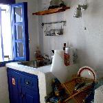 "The ""kitchen""."