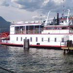 Kelowna, BC.  The Fintry Queen -- Auntie Estelle took us out on it for a tour of Lake Okanagan.