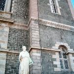 Basilica of St. John the Baptist; marble statue of St. Patrick.  14 Mar. '09