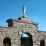 Basilica of St. John the Baptist; statue of St. John the Baptist.  14 Mar. '09