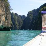 Coves of Koh Phi Phi Ley.