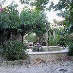 Der Brunnen im Innenhof