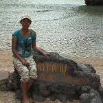 On James Bond Island (Phuket)