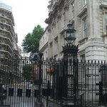 downing street.. where the pm lives.. closed off until further notice.. danggit