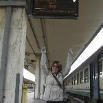 i'm going to Roma Termini next~