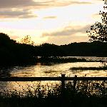 Lough Ramor in the late evening
