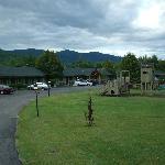 Playground, Pool and Motel