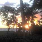 Sunset at Luau