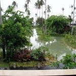 The Anantara resort with lagoons