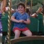 Jordyn on the Merry~go~round