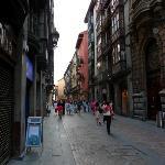 Casco Viejo, Bilbao's old city.