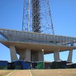 la torre della tv costruita nel 1965