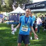 Finishing the Rock 'n Roll San Jose Half Marathon