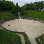 Trier. Roman amphitheater.