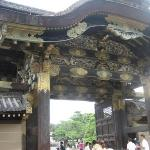 Nijo Castle in Kyoto : gate